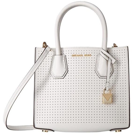 b1b571546eff Michael Kors Bags | Mercer Perforated Leather Crossbody | Poshmark